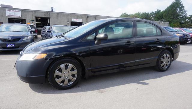 2008 Honda Civic LX SEDAN AUTO CERTIFIED 2YR WARRANTY CRUISE AUX POWER OPTIONS