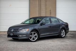 Used 2013 Volkswagen Passat TDI HIGHLINE SPORT - HIGHLINE - NO ACCIDENTS for sale in St. Catharines, ON
