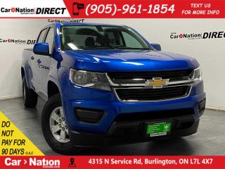 Used 2018 Chevrolet Colorado | BACK UP CAMERA| LOCAL TRADE| for sale in Burlington, ON