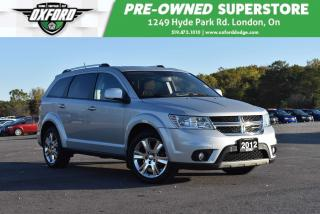 Used 2012 Dodge Journey SXT & Crew - One Owner, Low Kms, Excellent Conditi for sale in London, ON