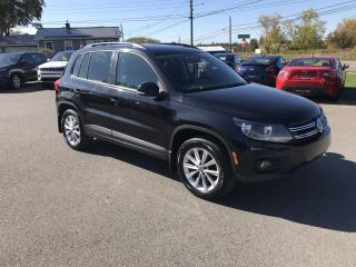 Used 2012 Volkswagen Tiguan S 4Motion Highline for sale in Truro, NS
