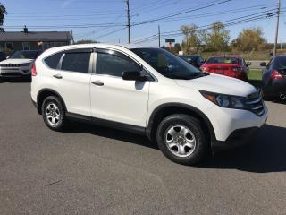 Used 2013 Honda CR-V LX 4WD 5-Speed AT for sale in Truro, NS