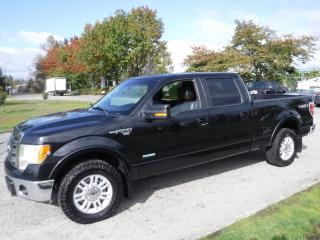 Used 2013 Ford F-150 Lariat SuperCrew 6.5-ft. Bed 4WD for sale in Burnaby, BC