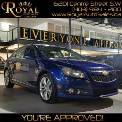 Used 2013 Chevrolet Cruze LTZ Turbo for sale in Calgary, AB