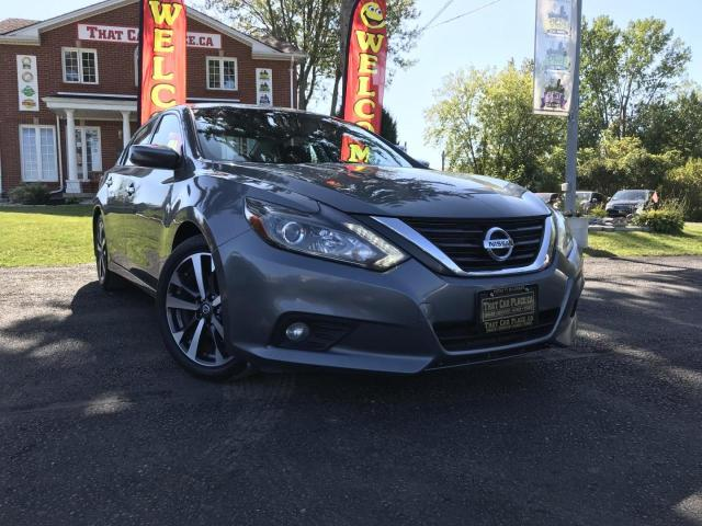 2016 Nissan Altima 2.5 SR Alloys-Backup Cam-Lthr-Pwr Seats-Pwr Windows-Cruise-A/C
