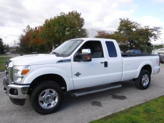 Used 2011 Ford F-250 SD SuperCab Diesel Long Box 4WD for sale in Burnaby, BC