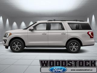 Used 2019 Ford Expedition Limited Max   - Leather Seats for sale in Woodstock, ON