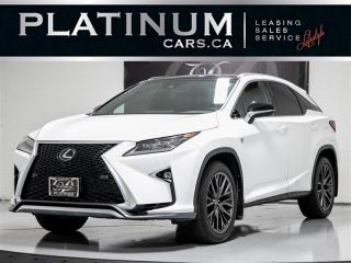 Used 2017 Lexus RX 350 F Sport 3 AWD, NAVI, HUD, CAM, Cooled Seats for sale in Toronto, ON