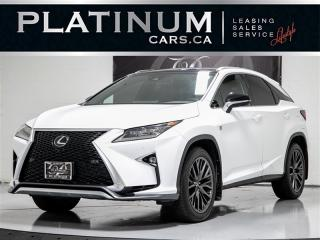 Used 2017 Lexus RX 350, F SPORT AWD, NAVI, HUD, CAMERA, COOLED SEATS for sale in Toronto, ON