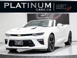 Used 2018 Chevrolet Camaro 2SS, CONVERTIBLE, NAVI, HUD, Cooled SEATS, Camera for sale in Toronto, ON