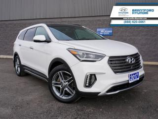 Used 2017 Hyundai Santa Fe XL Ultimate  -  Leather Seats - $196 B/W for sale in Brantford, ON