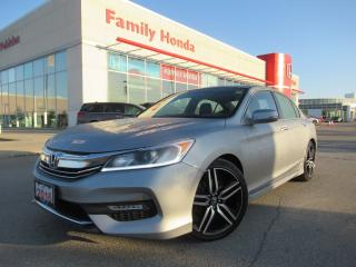 Used 2016 Honda Accord Sport | HONDA CERTIFIED | for sale in Brampton, ON
