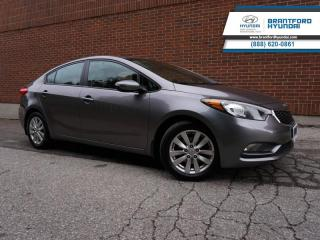Used 2015 Kia Forte AUTO | A/C | HTD SEATS  - One owner - $79 B/W for sale in Brantford, ON