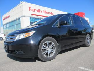 Used 2011 Honda Odyssey EX-L Rear Entertainment System | Great Value!! for sale in Brampton, ON