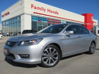 Used 2015 Honda Accord Sport | SUNROOF | REVERSE CAM | for sale in Brampton, ON