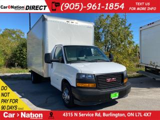 Used 2018 GMC Savana Work Van| OPEN SUNDAYS| WE WANT YOUR TRADE| for sale in Burlington, ON