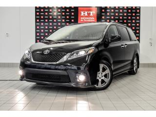 Used 2017 Toyota Sienna SE 8 places !!!  Intérieur en cuir for sale in Terrebonne, QC
