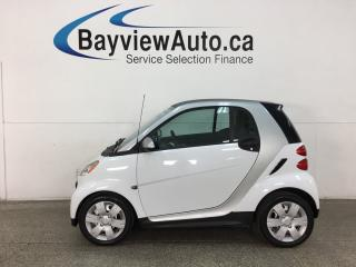 Used 2015 Smart fortwo Pure - AUTO! NAV! HTD LEATHER! BLUETOOTH! ONLY 3000KMS! for sale in Belleville, ON