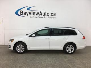 Used 2015 Volkswagen Golf Sportwagon 2.0 TDI Comfortline - AUTO! ALLOYS! HTD SEATS! for sale in Belleville, ON