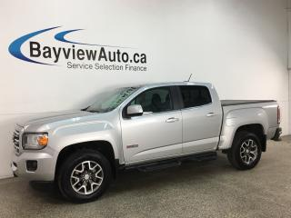 Used 2017 GMC Canyon SLE - 4X4! ALL TERRAIN! NAV! GMC INTELLILINK! 1/2 LTHR! PWR GROUP! for sale in Belleville, ON