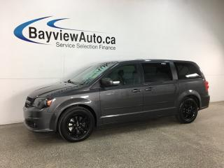 Used 2019 Dodge Grand Caravan GT - HTD LEATHER! BLACKTOP! 11,000KMS! for sale in Belleville, ON