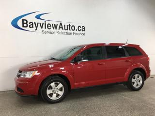 Used 2017 Dodge Journey CVP/SE - PUSH START! DUAL A/C! ALLOYS! + MORE! for sale in Belleville, ON