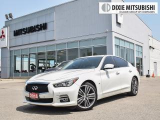 Used 2015 Infiniti Q50 LIMITED TECH | LANE DEP | BLIND SPOT | 360 CAM for sale in Mississauga, ON
