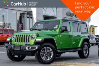 Used 2020 Jeep Wrangler Unlimited Sahara|KeyLess-Go.Customr-Prefrd.Adv_Safety.Pkgs|Apline.Audio| for sale in Thornhill, ON