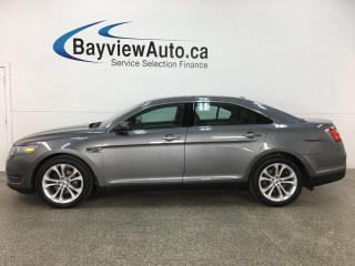 Used 2013 Ford Taurus SEL - HTD LEATHER! SYNC! SUNROOF! FULL PWR GROUP! + MORE! for sale in Belleville, ON