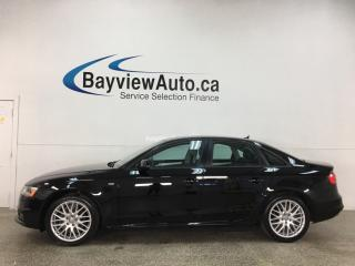 Used 2016 Audi A4 2.0T Komfort plus - 6SPD! QUATTRO!  HTD LEATHER! SUNROOF! for sale in Belleville, ON