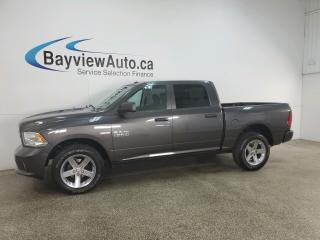 Used 2017 RAM 1500 ST - V8! HEMI! CHROMES! 4X4! SPORT APPEARANCE! for sale in Belleville, ON