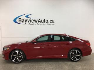 Used 2018 Honda Accord Sport - ONLY 500KMS! 1/2 LEATHER! SUNROOF! ADAPTIVE CRUISE! + MORE! for sale in Belleville, ON