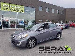 Used 2015 Hyundai Accent Auto SE, MAGS, TOIT, 30471 KM, BANC CHAUFFANT for sale in Chambly, QC
