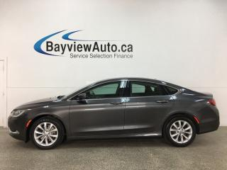 Used 2015 Chrysler 200 C - NAV! HTD LEATHER! PANOROOF! REMOTE START! ALLOYS! for sale in Belleville, ON