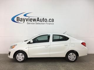 Used 2018 Mitsubishi Mirage G4 ES - ONLY 3000KMS! AUTO! BLUETOOTH! REVERSE CAM! A/C! for sale in Belleville, ON