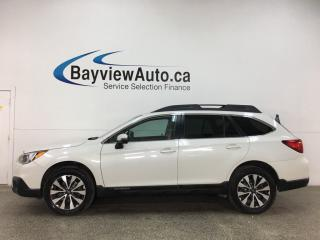 Used 2017 Subaru Outback 3.6R Limited - AWD! SUNROOF! HTD LEATHER! NAV! ALLOYS! LOADED! for sale in Belleville, ON