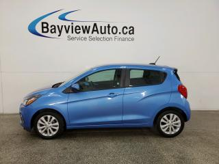 Used 2016 Chevrolet Spark 1LT Manual - 6SPD! ALLOYS! PWR GROUP! for sale in Belleville, ON