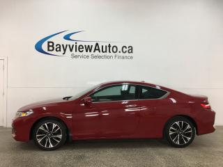 Used 2017 Honda Accord EX - AUTO! SUNROOF! ALLOYS! PWR HTD SEATS! for sale in Belleville, ON