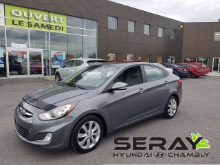 Used 2014 Hyundai Accent Auto GLS, MAGS, TOIT, BLUETOOTH, A/C for sale in Chambly, QC