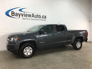 Used 2016 Chevrolet Colorado WT - 4X4! ONSTAR! HITCH! V6! for sale in Belleville, ON