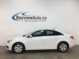 Used 2015 Chevrolet Cruze 1LT - AUTO! ONSTAR! REVERSE CAM! REMOTE START! for sale in Belleville, ON