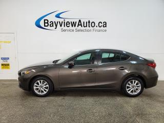 Used 2014 Mazda MAZDA3 GS-SKY - AUTO! NAV! HTD SEATS! SUNROOF! ALLOYS! + MORE! for sale in Belleville, ON