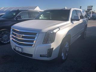 Used 2020 Cadillac Escalade ESV PLATINUM for sale in Markham, ON
