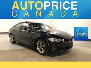 Used 2017 BMW 4 Series 430 Gran Coupe i xDrive MOONROOF|NAVIGATION|LEATHER for sale in Mississauga, ON