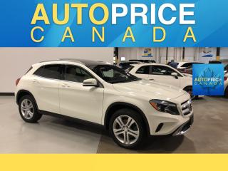 Used 2016 Mercedes-Benz GLA NAVIGATION|PANOROOF|LEATHER for sale in Mississauga, ON