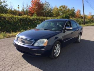 Used 2005 Ford Five Hundred Berline 4 portes Limited traction intégr for sale in Quebec, QC