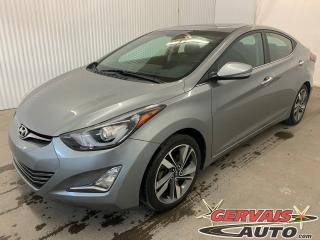 Used 2015 Hyundai Elantra Limited GPS Cuir Toit Ouvrant MAGS *Bas Kilométrage* for sale in Shawinigan, QC