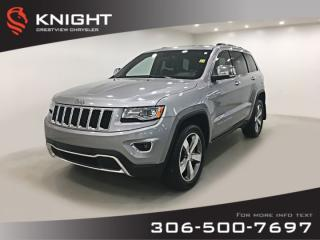 Used 2015 Jeep Grand Cherokee Limited V6   Sunroof   Navigation for sale in Regina, SK