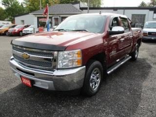 Used 2013 Chevrolet Silverado 1500 WORK READY CHEYENNE EDITION 6 PASSENGER 4.8L - VORTEC.. TWO-WHEEL DRIVE.. CREW CAB.. SHORTY.. CD/AUX INPUT.. TOW SUPPORT.. KEYLESS ENTRY.. for sale in Bradford, ON