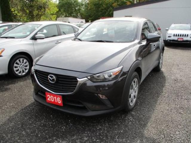 2016 Mazda CX-3 GAS SAVING MAZDA CX-3 SPORT MODEL 5 PASSENGER 2.0L - 4 CYL.. ALL-WHEEL DRIVE.. BLUETOOTH.. BACK-UP CAMERA.. SKYACTIV TECHNOLOGY..